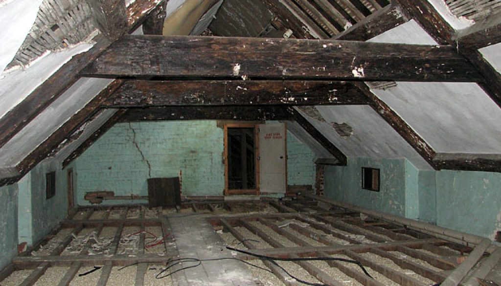 damp loft
